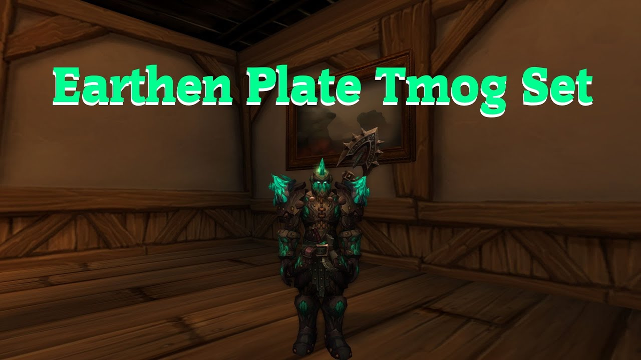 Earthen Plate Tmog Set Stormwind Pve Vendor Youtube