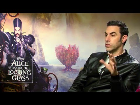 Alice Through The Looking Glass Interview - Sacha Baron Cohen