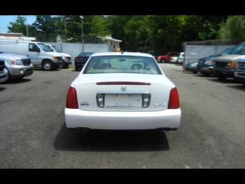 2005 Cadillac DeVille PEARL WHITE LEATHER WARRANTY NEW ...