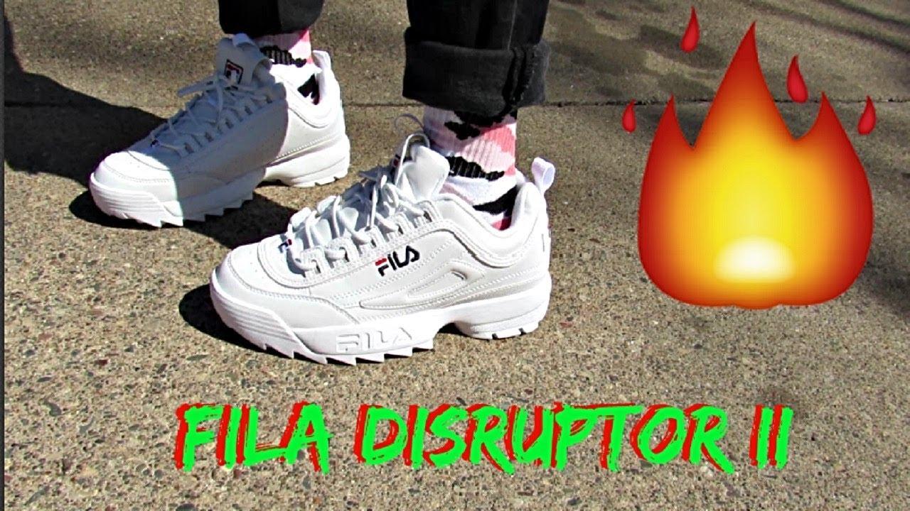 Fila Disruptors II Unboxing Review & On Feet