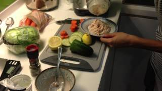 Recipe Book - Fresh Vegetable (crudités) With Tuna Dip Part Ii