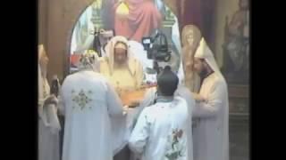قداس لسيدنا الانبا شاروبيم بكنيسة السيدة العذراء 1-2-2017