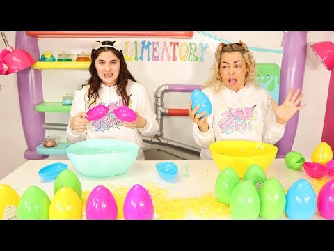 DON'T CHOOSE THE WRONG EASTER EGG FOR SLIME CHALLENGE Slimeatory #560