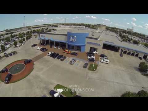 Houston Dealership Aerial Video