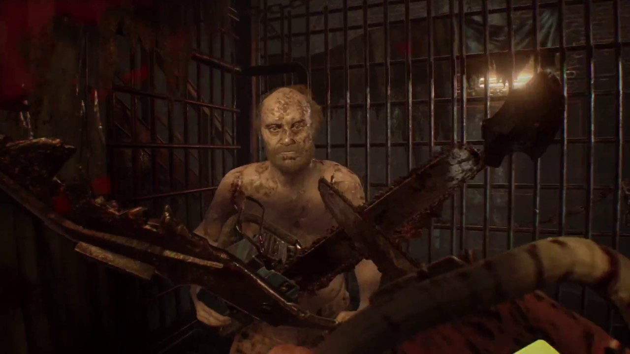 Resident Evil 7 Biohazard Jack Chainsaw Boss Fight Madhouse