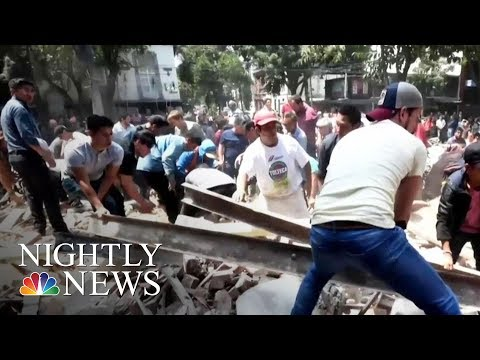 Download Youtube: 7.1-Magnitude Earthquake Rattles Mexico City | NBC Nightly News
