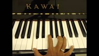 Hướng dẫn đệm hát piano Con đường tình yêu