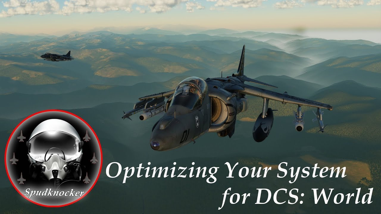 Optimization Guide for DCS: World 2 5! NVidia Settings | System Specs |  Page File | Game Settings