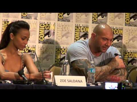 Press Conference Guardians of the Galaxy San Diego
