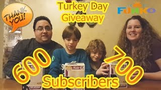 Turkey Day Giveaway Featuring Black Friday Hot Topic Exclusive Funko Mystery POPs