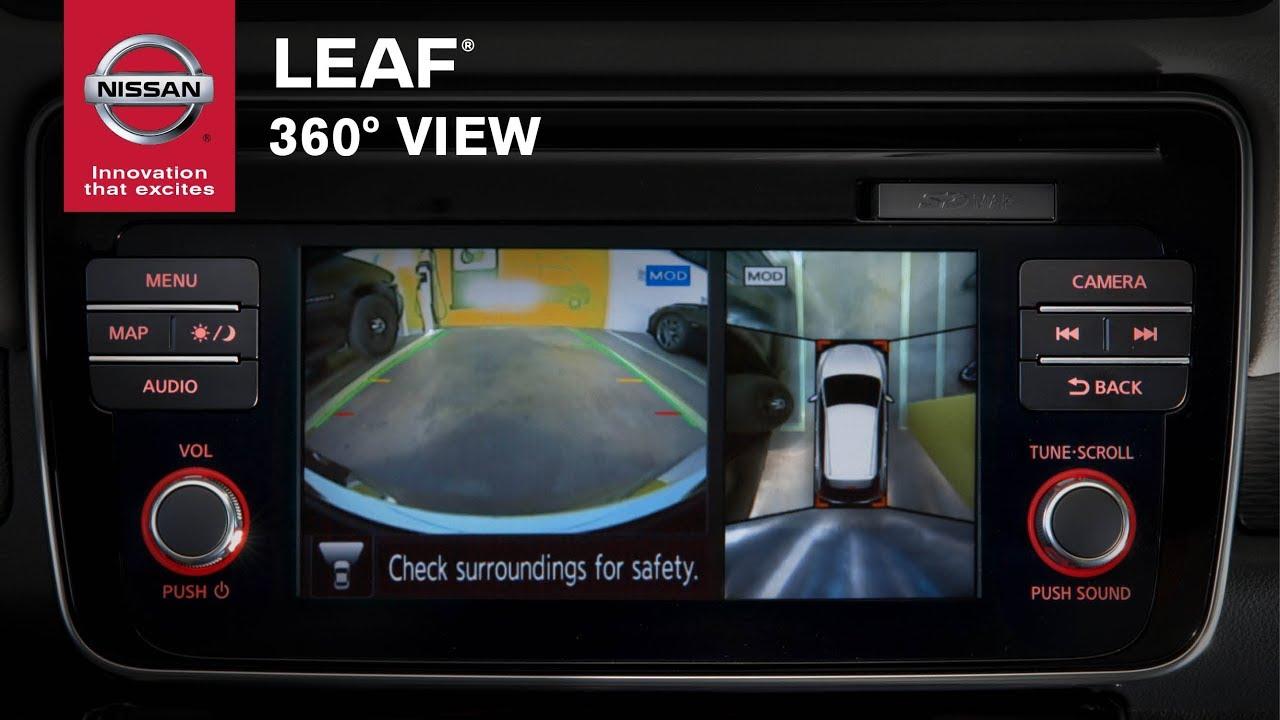 How Does Nissan Leaf Intelligent Around View Monitor Work