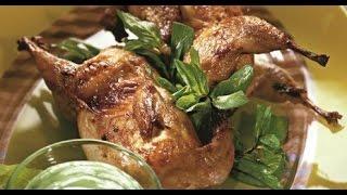 видео Перепелки рецепт в духовке