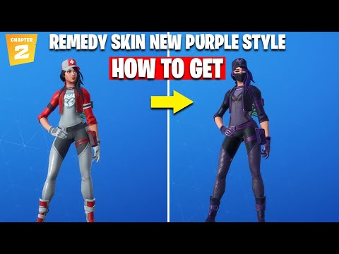 *UNLOCK* REMEDY VS TOXIN Purple Style -  FULL GUIDE - Fortnite - COMPLETING ALL REMEDY CHALLENGES