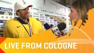 Post-Game: Sweden's Henrik Lundqvist and a trophy | #IIHFWorlds 2017