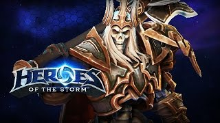 ♥ Heroes of the Storm (Gameplay) - Leoric, Back In The Saddle (HoTs Quick Match)