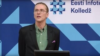 Public lecture by Mikko Hyppönen at Estonian Information Technology College
