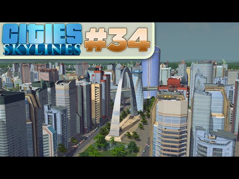 Cities Skylines :: # 34 - Business Park!