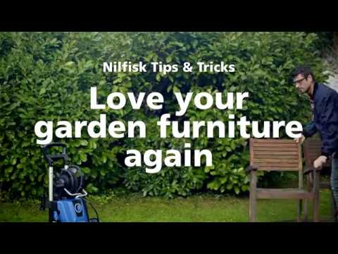 Tips and tricks for cleaning your garden furniture