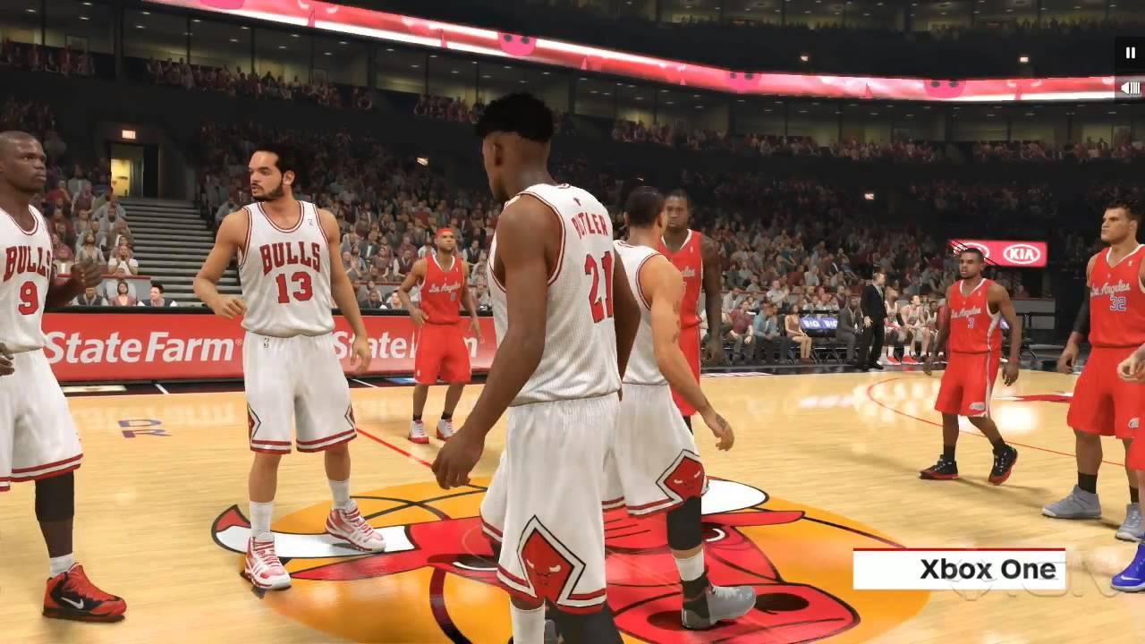 NBA 2K 14 - PS4 Vs Xbox One - Graphics Comparison - YouTube