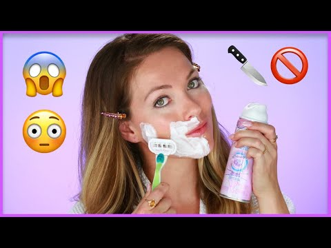 How I Shave My Facial Hair At Home Without Acne or Irritation?