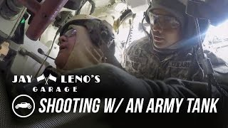 Jay Leno At The Shooting Range With An Army Tank - Jay Leno