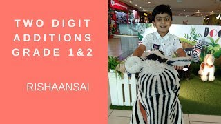 Learn Math - Addition of 2 Digit Numbers