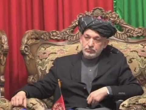 Karzai Tries to Contain Tension over Election Fraud Remarks