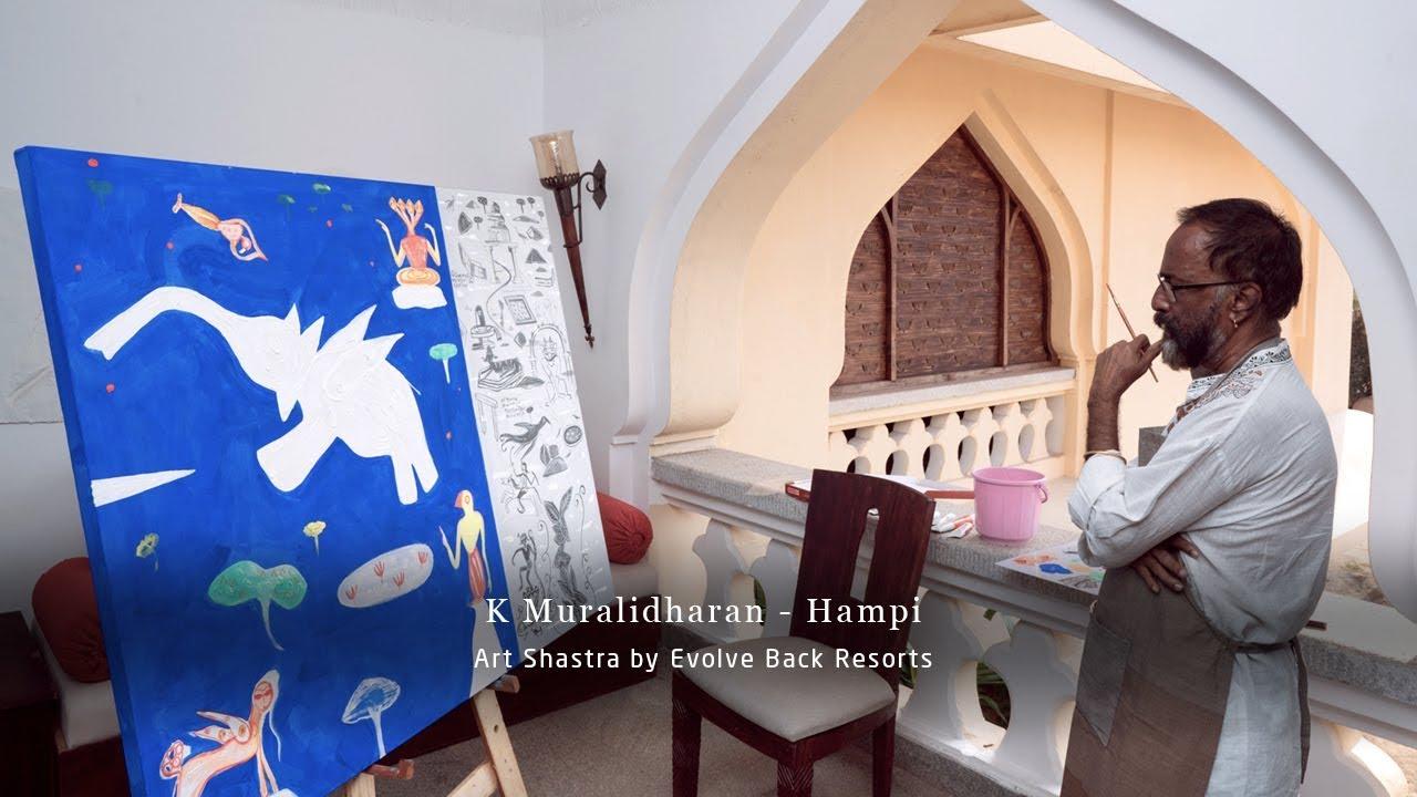 K Muralidharan - Art Shastra by Evolve Back Resorts