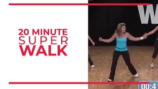 20 Minute Super Walk! Walk at Home by Leslie Sansone