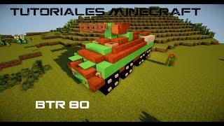 Tutoriales Minecraft: BTR-80