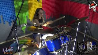 Five Finger Death Punch - M.I.N.E (End This Way) - DRUM COVER by Аня Удалова