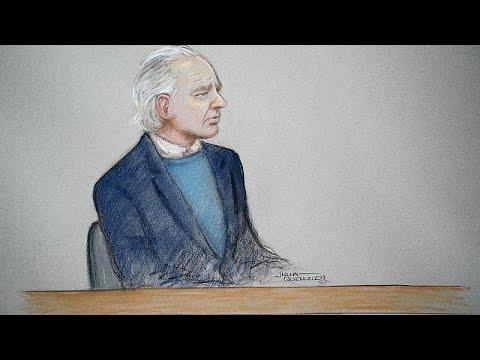 Très affaibli, Julian Assange comparaît devant un tribunal londonien