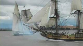 Tall Ships and cannon battles