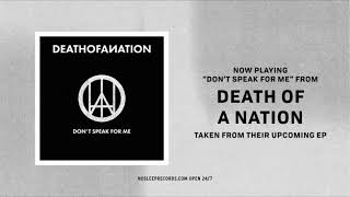 Death of a Nation is a reaction to the world we live in. It is musi...