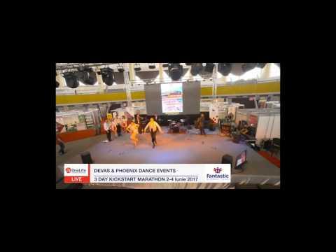 Devas & Phoenix Dance Events la RomExpo 2017 - 3 Day Kickstart Marathon