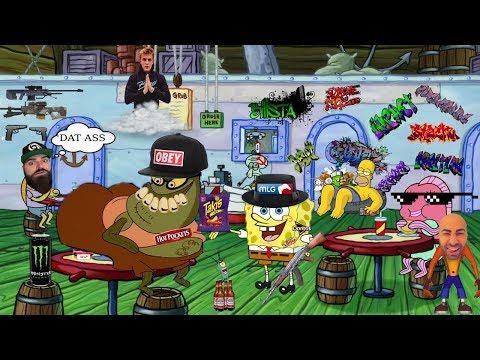 YTP Spongebob MLG