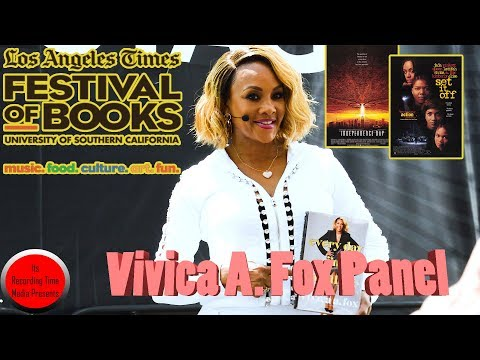 Los Angeles Times Festival Of Books 2018: Vivica A Fox Panel