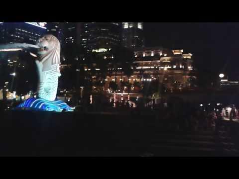 Singapur Marina Bay Lasershow