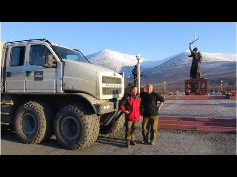 Арктическая экспедиция на вездеходах отправились из Якутска в Певек