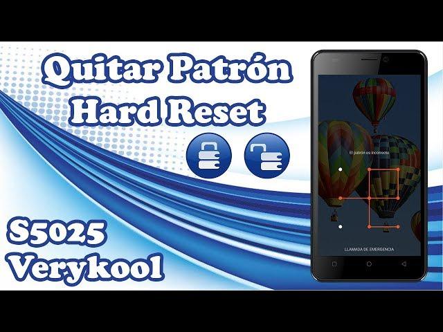Verykool Helix S5025 | Hard Reset | Eliminar Patrón Olvidado | Quitar Código De Seguridad Olvidado