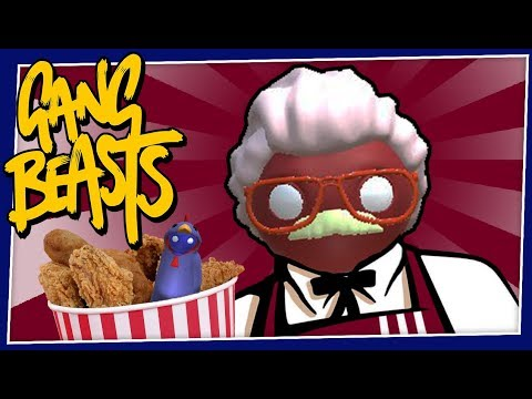 Gang Beasts - #179 - THE COLONEL!!