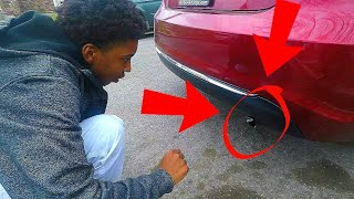 Exhaust Whistle Prank - Lituation Situation - TheWikiHow