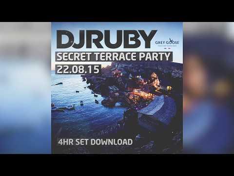 DJ Ruby - Secret Terrace Set, Popeye's Village Malta 22.08.15