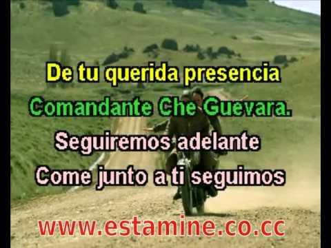 Hasta siempre comandante - Karaoke - Com coro