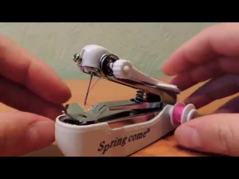 Чудо китайской инженерии, ручная швейная машинка