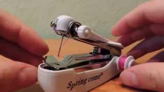 Чудо китайской инженерии, ручная швейная машинка(, 2015-03-07T17:20:14.000Z)