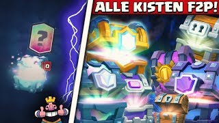 ALLE KISTEN! | FREE 2 PLAY CHEST OPENING | INFERNO DRACHEN ZIEHEN?! | CLASH ROYALE DEUTSCH