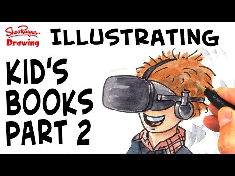How to draw roughs and final artwork for Children's Books - Part 2 streaming vf