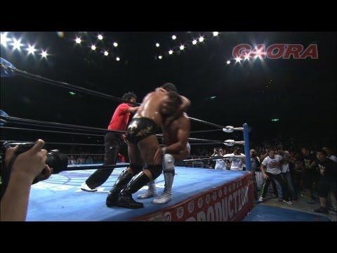 SUWAMA vs AKIYAMA JUN 2011.10.23  TRIPLE CROWN CHAMPIONSHIP