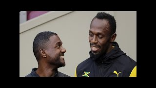 Iaaf world athletics championships 2017: usain bolt to face justin gatlin in his farewell 4x100m re